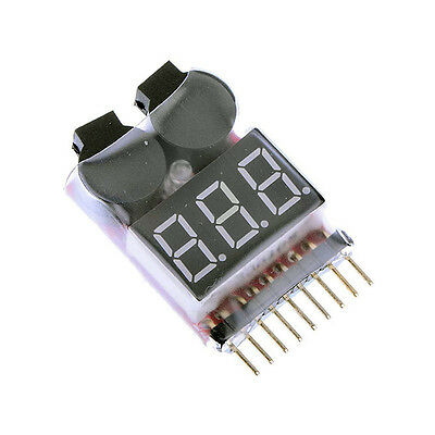 LiPo Battery Voltage Monitor / Alarm