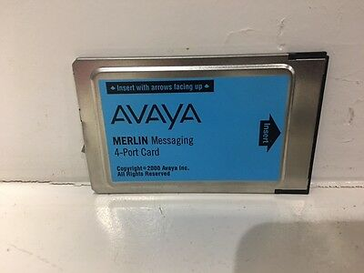 Refurbished Avaya Merlin Messaging 4-Port Card - 108491366