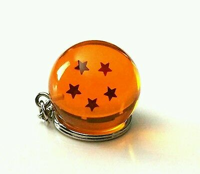 Dragon Ball Z - 5 Star Keychain keyring 3D!