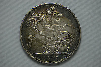 1887 Great Britain Silver Crown (cn1514)