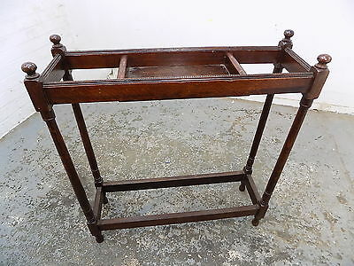 oak,hall stand,umbrella stand,stick stand,stand,open stand,key,antique,victorian