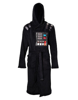 Star Wars Bademantel Darth Vader Mit Kapuze Grösse L/xl/xxl Neu