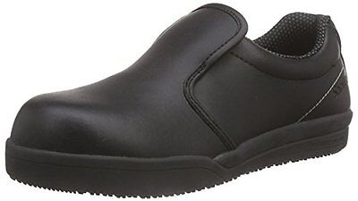 Nero (Schwarz (Black 2)) (TG. 38 EU) SanitaSan-Chef Slipper-S2 - Scarpe Antinfor