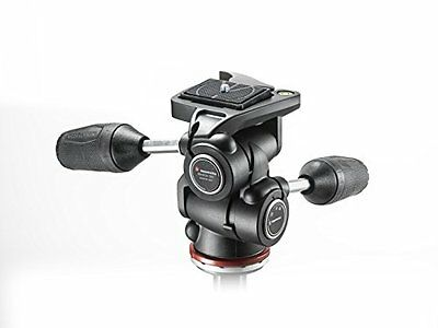 Manfrotto MH804-3W Testa a 3 Movimenti, Nero