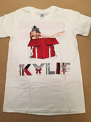 Kylie Minogue Christmas 2015 Albert Hall Rare T-Shirt Size Small Unisex Promo