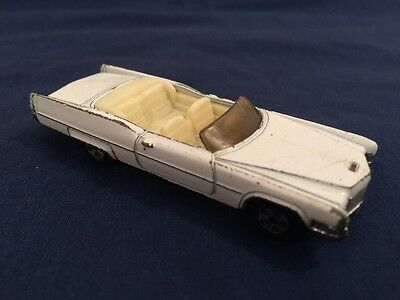 Vintage 1981 Dukes Of Hazzard Boss Hogg's Cadillac The Ertl Co