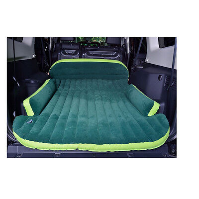 Car Travel Thicker Air Mattresses Bed Inflation Back Seat Sleep Cushion for SUV