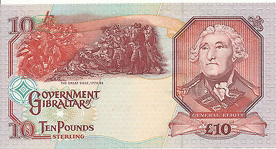 Gibraltar - 10 Pounds 1995 UNC - Pick 26, Serie AA