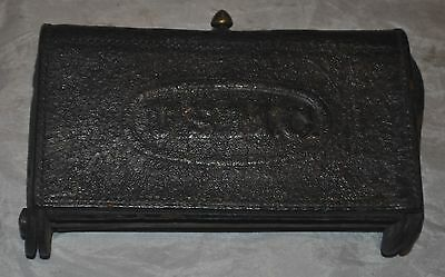 Vintage Usmc Marked Mckeever Style Leather Cartridge Pouch