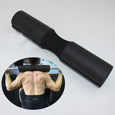 Squat Barbell Neck Shoulder Back Protect Pad Support Pull Up Grip Practise Tool