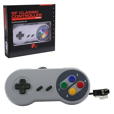 SNES Style Controller Wii Wii Brand New