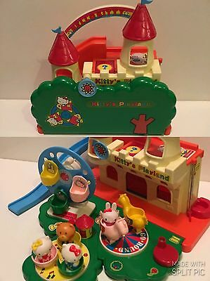 Hello Kitty Vintage Toy Playground Play Set Figure VERY RARE My Melody