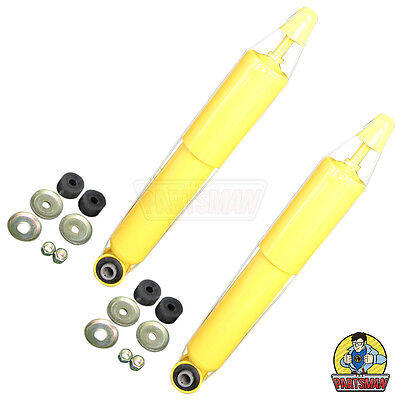 Heavy Duty Pair Front Gas Shock Absorbers Holden Rodeo 2WD TF Ute 7/88-2/03