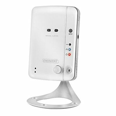 Eminent Easy Pro View Telecamera IP, Bianco