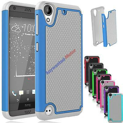 For HTC Desire 530 Phone Case Ultra Hybrid Rugged Armor Protective Matte Cover