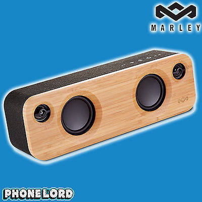 Genuine House of Marley Get Together Mini Bluetooth speaker wireless wood new
