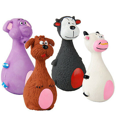 N Pet Puppy Latex Chew Squeaker Squeaky Sound Cow Elephant Dog Ball Playing Toys