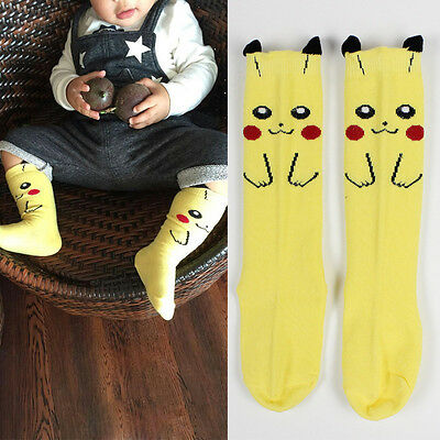 Anime Pokemon Pikachu kawaii Character Pocket Monsters Baby Kids Socks