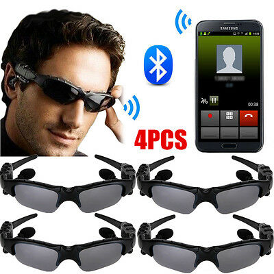 7148c8c514 LOT Wireless Bluetooth SunGlasses Headset Headphones Handfree For iPhone  Samsung