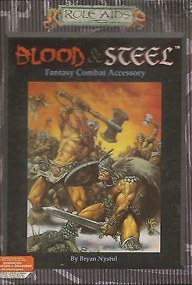 Role Aids Box Set BLOOD AND STEEL SEALED! 765 Mayfair Games Dungeons & Dragons