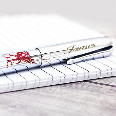 Personalised Engraved LIVERPOOL Football Club FC PEN Gift Boxed