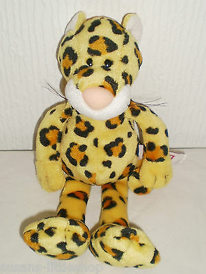 Designed by Nici Soft Toy Beanie Leopard Wild Animal Collectable