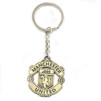 Football Club Manchester United double faced metal keychain, keyring, pendant