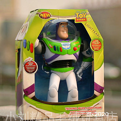 "☆UK ORIGINAL Pixar Toy Story 12"" Buzz Lightyear Ultimate Talking Action Figure☆"