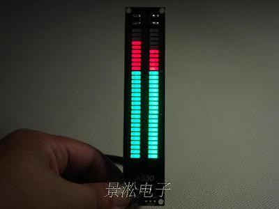 30led digital Level Meter Audio Display Spectrum Analyzer Without shell For AMP