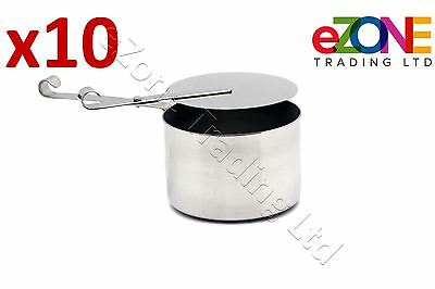 10 Stainless Steel Chafing Fuel Holder Restaurant Catering Buffet dishes Chafer