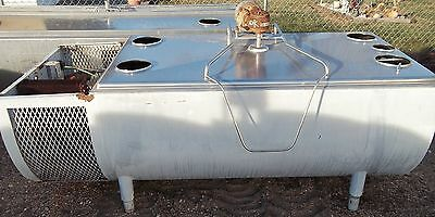 MILKEEPER 250 Gallon Stainless Steel Bulk Milk Tank with Cooling Unit!!