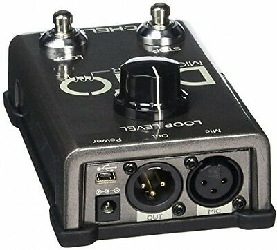 TC HELICON Ditto Mic Looper Pedal for Vocals and Acoustic Instruments