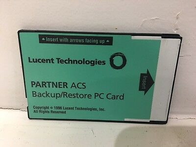 Refurbished Avaya Partner ACS Backup/Restore PC Card