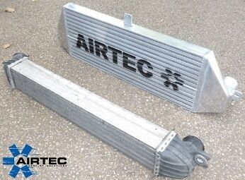 Airtec Mini Cooper-S R56 Intercooler silver Finish Cooper S Turbo- CLEARANCE!