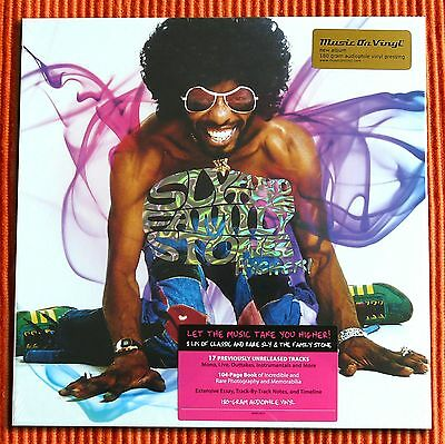 SLY & THE FAMILY STONE - HIGHER!   Numbered Limited 180g  8LP Box Set  SEALED