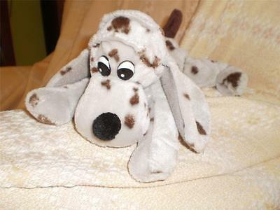 RAV RUSHDEN Bean Bag PLUSH SOFT SPOTTY Toy DOG with LONG EARS (CUTE)