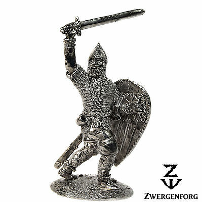 Tin Toy SOLDIER 54mm RUSSIAN Knight MEDIEVAL Russia WARRIOR Metal Tin Figure