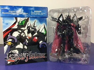 Limited Edition Black Escaflowne Action Figure 2002 Bandai Sunrise