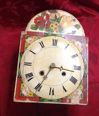 Extremely Rare Signed Black Forest Wag On The Wall Clock  For Spares Or Repair
