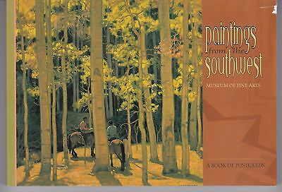 PAINTINGS FROM THE SOUTHWEST... A book of 30 color postcards