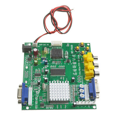 Arcade Game RGB/CGA/EGA/YUV to VGA HD Video Converter Board HD9800/GBS8200 DIY