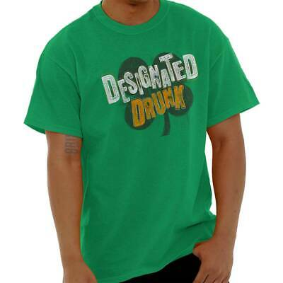 cd2c1b1a Designated Drunk St Patrick Day Patty Shirt Funny Irish Drink Classic T  Shirt Te