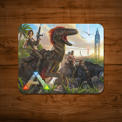 ARK Survival Evolved Mouse Mat Mac PC Apple Gaming Video PS4 Xbox Game 5mm Pad