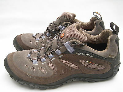 Womens Merrell Continuum Gore-Tex Hiking Shoe Vibram Sole Size 10.5