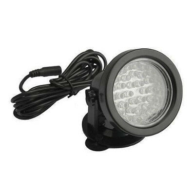07S8 Underwater 36 Led Aquarium Light Color Changing for Water Garden Pond Tank
