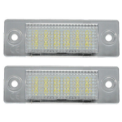 07S8 LED License Number Plate Light Lamp VW TRANSPORTER T5 CADDY TOURAN Golf Pa