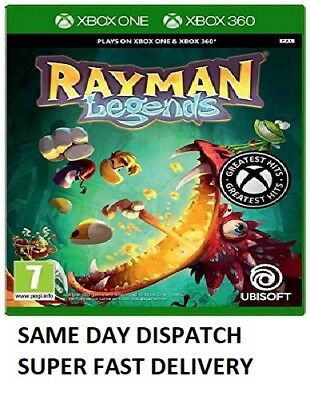 Rayman Legends: Classics 2 Xbox 360 Brand NEW - 1st Class Delivery