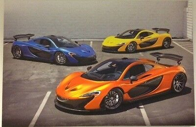 "McLaren Triple P1 Canvas Print 36"" X 24"" X 1"""