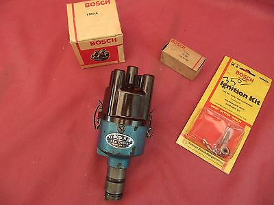 Vintage Bosch 019 Screamer Mechanical Advance Blue Distributor NOS ignition VW