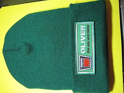 Oliver Farm Tractor Beannie Beanie Cap Green Or Black Look And Buy Now*